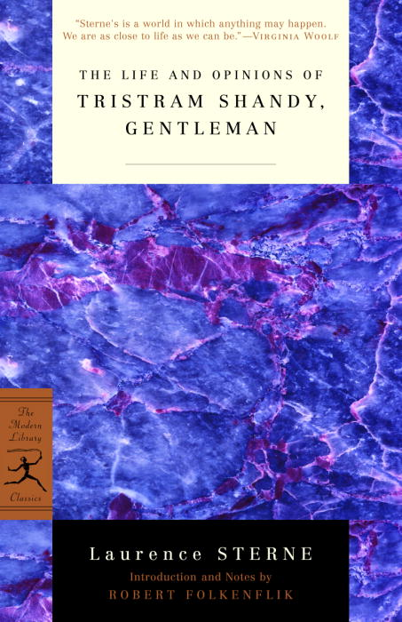 The Life and Opinions of Tristram Shandy, Gentleman By Sterne, Laurence/ Folkenflik, Robert