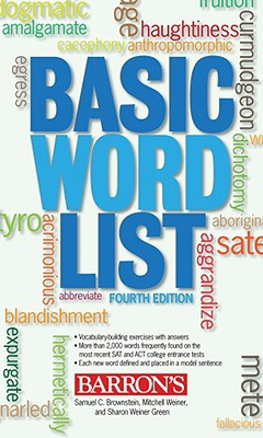 Basic Word List By Brownstein, Samuel C./ Weiner, Mitchell/ Green, Sharon Weiner